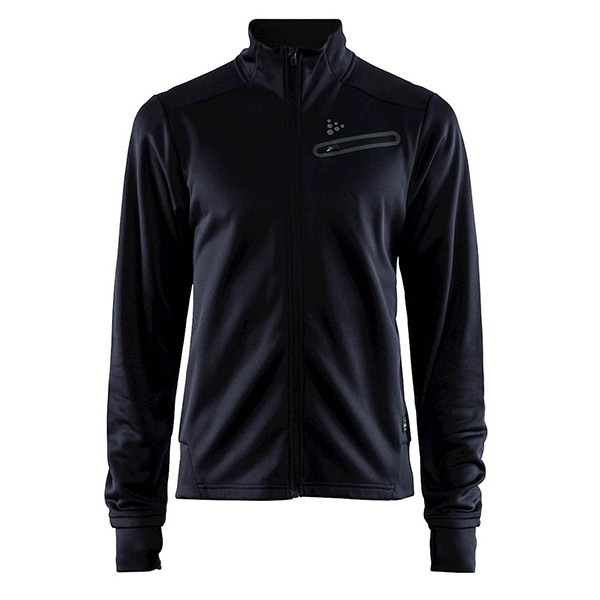 Куртка мужская Craft Breakaway Jersey Jacket черная 1906387-999000