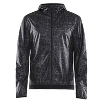 Фото Куртка мужская Craft Lumen Wind Jacket Man черная 1907686-155999